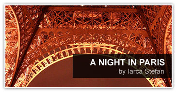 paris, night, arc, triumph, tower, eiffel, turn, vedere, lumii