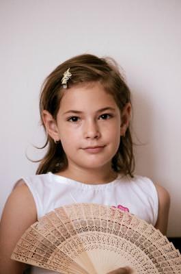 girl, fetita, evantai, fan, girl, style, beautiful, small, young,  children, female, brunette, fan, evantai