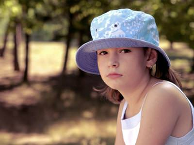 girl, hat, blue, eyes, child, beautiful, outside, park, fata, palarie, ochi, copil, fiica, afara, parc