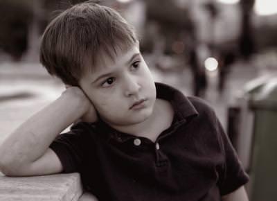 son, boy, tired, evening, dirty, child, black, white, children,