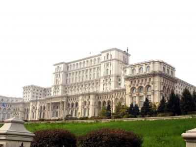house, architecture, columns, monument, bucharest, marble, construction, house, of, people, grandeur, big, huge, parliament, parlament