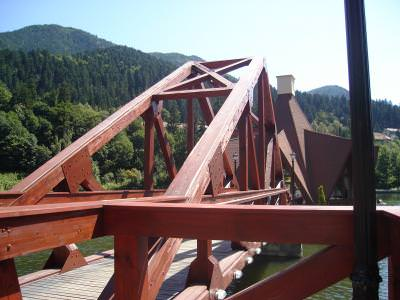 tusnad, bridge, mountains, resort, vacantion, hollyday, pod, iron, construction