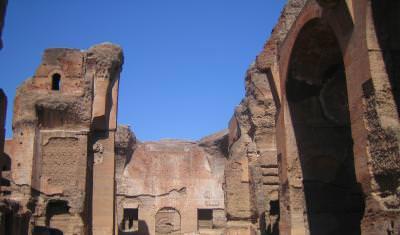 ruins, Italy, architecture, stones, shapes, rocks, sky, blue, archaeology, rome, old, ruine, Italia, arhitectura, pietre, forme, cer, albastru, arheologie, vechi, Roma