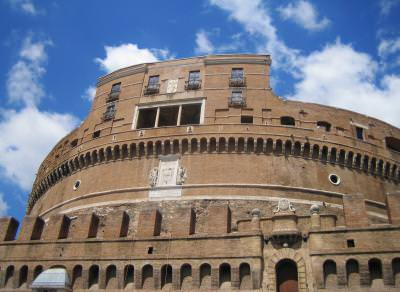 Castel, Sant\'Angelo, Rome, Italy, fortress, castle, museum, sky, castle, ancient, adriano, fortareata, muzeu, cer, stravechi