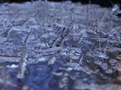 ice, water, frozen, thorns, spikes, winter, abstract, cold, gheata, apa, inghetata, spini, tepi, iarna, frig, rece