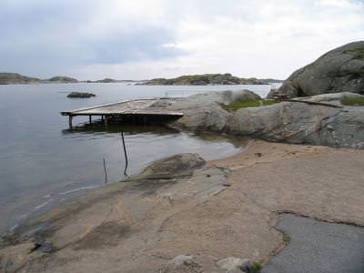 ponton, apa, water, pier, cer, blue, sky, fallen, deserted, old, bridge