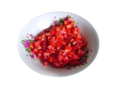 rosii, tomatoes, vas, bol, plate, farfurie
