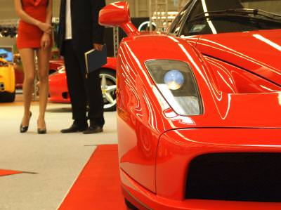 Ferrari, Enzo, Metro, Baneasa, luxury, show, 2007, car, red, speed, force, horse, power, tuning, extreme, car, wheels,