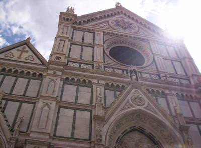 sun, firenze, florence, italy, summer, church, archiecture, construction, god, faith, believe, worship