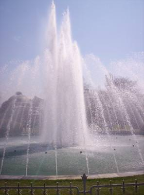 Istanbul, fountain, water, apa, h2o, running, pouring, apa, blue, sunny, cer, albastru