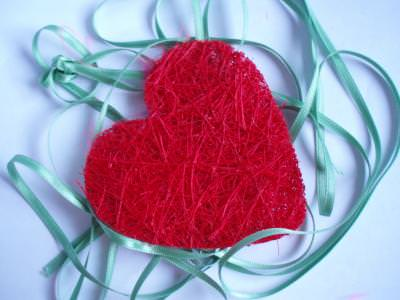 inima, love, dragoste, shape, heart, valentine, ribbon, blue, red, feeling,
