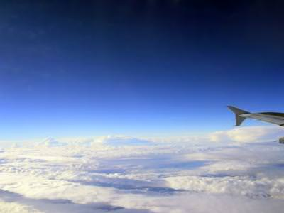 air, blue, sky, airplane, space, horizon, clouds, nori, hights, fly, concept, dream, tale, plane, wing