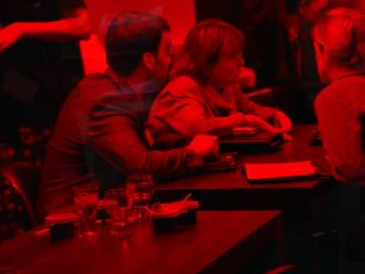 bar, red, drinking, smoking, background, table, socialising, red, colors, atmosphere, smoke, drink, talk,