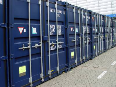 container, albastru, transport, marfa, background, metal, crate, blue, carry, heavy, load,