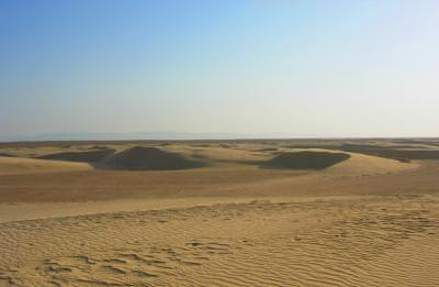 desert, sand, sky, Tunisia, nisip, cer, blu, albastru, Tunis, desolated, arid, blue,