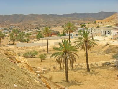 rural, village, Tunisia, palm, trees, buildings, houses, sat, palmieri, cladiri, case, oases, desert, people, sat, hot, warm, climate, season, sezon, baren, arid, inhabitants, places,