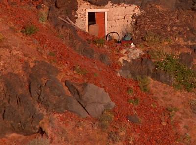 mountain, old, door, red, rocks, munte, vechi, usa, rosu, piatre, rosii