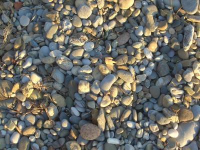 prundis,  pietris, pietre, rocks, many, cobalt, sunset, sundown, apus, shadows, ground, fallen, leafs, autumn, spread