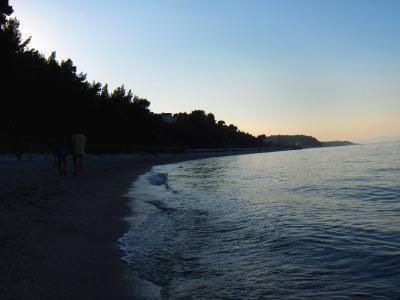 beach, sunset, sea, water, dark, end, day, plaja, inserat, apus, intuneric, mare, sfarsit, zi