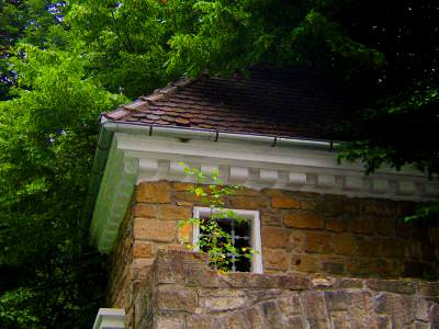 house, roof, window, forest, wood, rocks, old, nice, casa, padure, acoperis, caramida, pietre, veche, fereastra