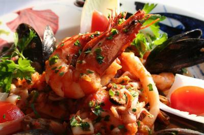 sea, fruit, creveti, shrimps, food, mancare,