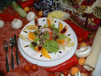 decor, sea, fruit, vegetables, plate, food, legume, fructe, mancare, mare