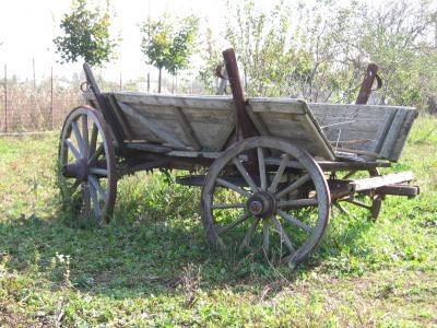 rural, cart, wheels, rustic, caruta, roti