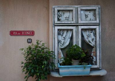strada, casa, via, street, window, strada, apia, via del iconei, window, flowers, floei, verde, geam,