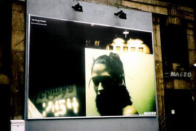 commercial, banner, urban, town, oras, reclama