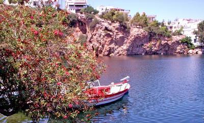 kulla santorin, sea, mare, ocean, greece, grecia, sun, hot, cer, blue, sky, flowers, buildings,white, alb, holliday, vacanta