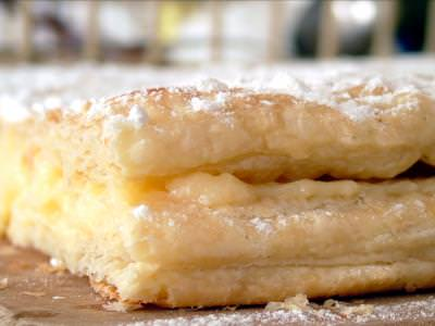 creamy, pastry, cook, sugar, cream, yellow, taste, tasty, delicious, eat, food, closeup, macro, placinta, dulce, sweet