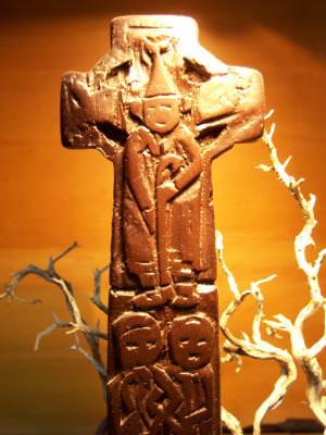 cross, celtic, bishop, light, concept,