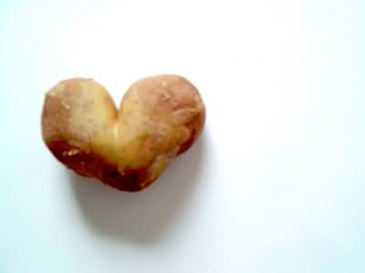 potatoe, heart, kitchen, food, single, brown, closeup, kartoffel, küche, gemüse, vegetable, manacare, cartof, maro, leguma, inima, bucatarie