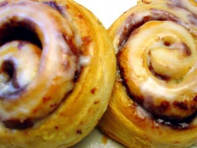 Cinnamon, Buns, mancare, turata, dulce, colaci,