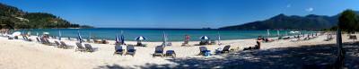 thassos, limena, island, insula, island, beach, plaja, sun, soare, sea, mare, water, blue, albastru, cer, sky, umbrellas, greece, grecia