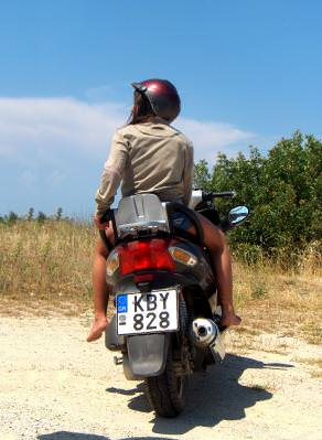 sea, grece, thassos, water, mare, ocean, apa, summer, hot, warm, sunset, apus, soare, sun, grecia, island, insula, vacanta, holiday, landscape, panorama, biker, motorcycle, road, drum