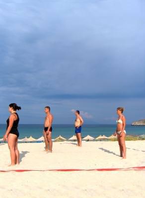 beach, voley, greedce, thassos, plaja, soare, sun, cer, blue, sky, albastru, people, young, game, joc