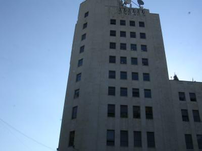 bloc, romtelecom, office building, building, blue sky, sky, cer albastru, cer