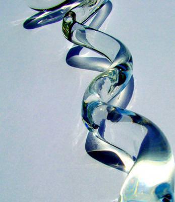 sticla format ondulat, spirala, glass, light, lumina