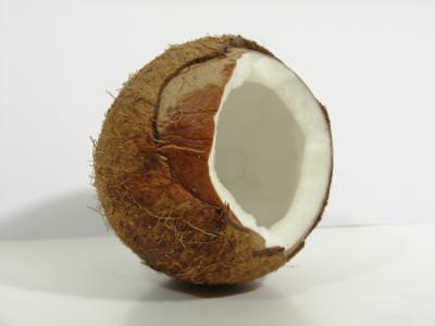 coconut, nuca, cocos, been, boaba, macro, close up