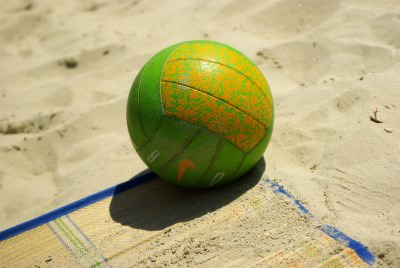 ball, sun, sand, beach, volley, play, tema sport, water, swim