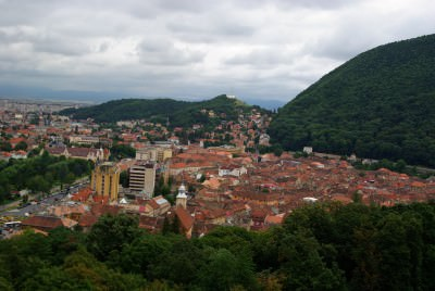 brasov, landscape, panorama, nature, city, overview, top, oras, mountains,