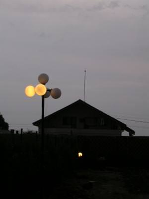 night, house, light, casa, lumina, lampa,