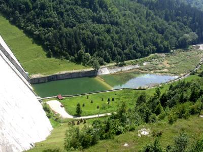 mountains, munti, inserare, piscuri, hights, baraj, cadere de apa, hidrocentrala, acumulare de apa,