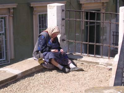old, woman, beggars, cersetoare, femeie