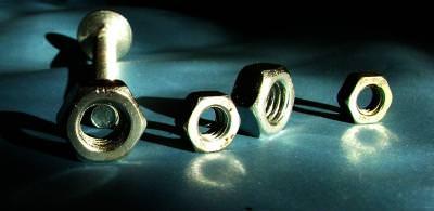 suruburi, screws, color, blue, albastru, filet, iron, steel, fier, metal, otel
