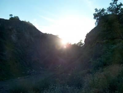 Mountain, sunset, Mount SAG, Hungary, volcano, munte, apus, vulcan, Ungaria