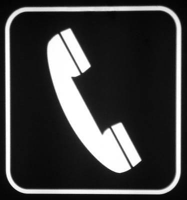 telephone, simbol, communication, sign, semn,