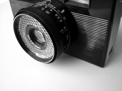 camera, picture, image, tool, black, white, alb, negru, photo, camera, obiectiv, lenses