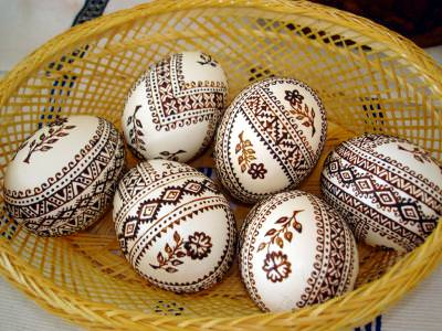 easter, egg, ou, tradition, painted,